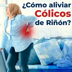 ¿Cómo aliviar cólicos de riñón?