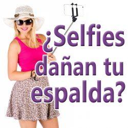 """La selfie que puede dañar tu lumbar: """"Cola de pato"""""""