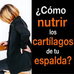 ¿Cómo nutrir los cartílagos para tratar Hernias Discales?