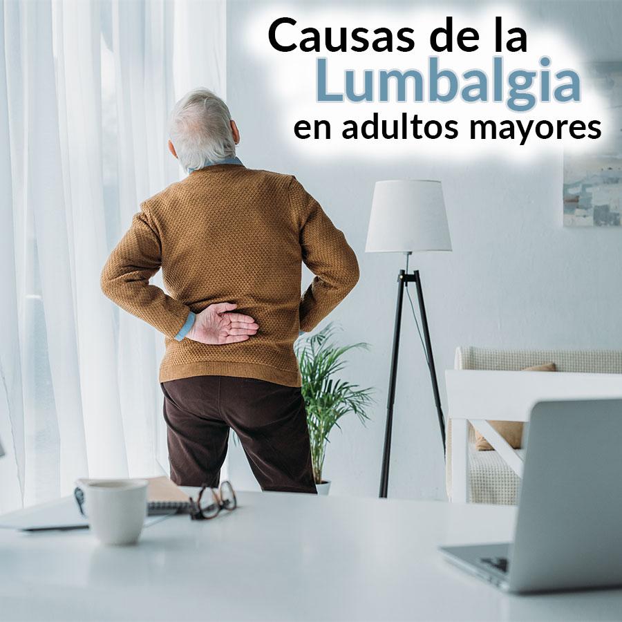 Causas de lumbalgia en adultos mayores